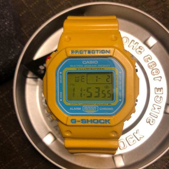 32ade8ca23b G-Shock Accessories | Casio Gshock Dw5600cs9 Yellowblue | Poshmark